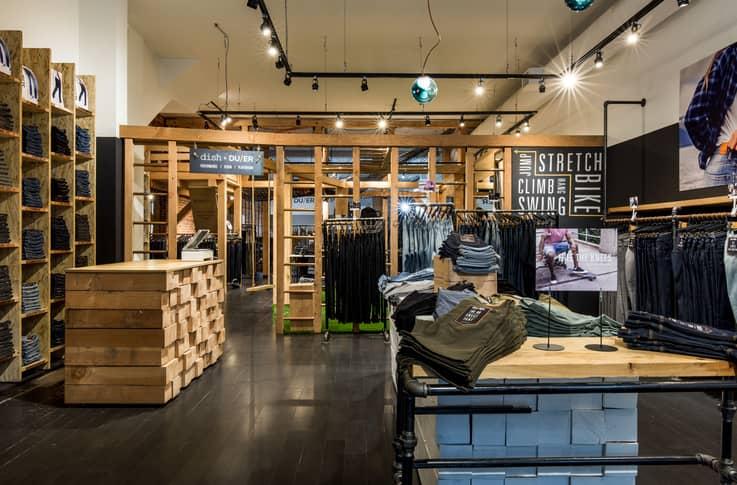 Dish & DUER - Brick and Mortar Retail