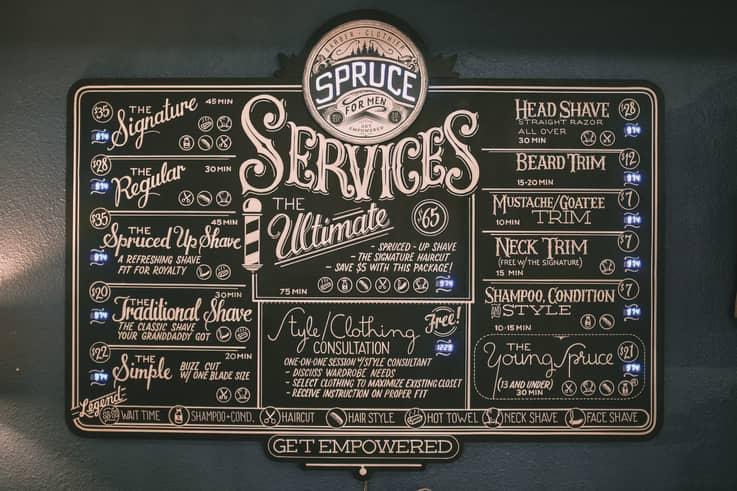 Sprucebot - Retail Service