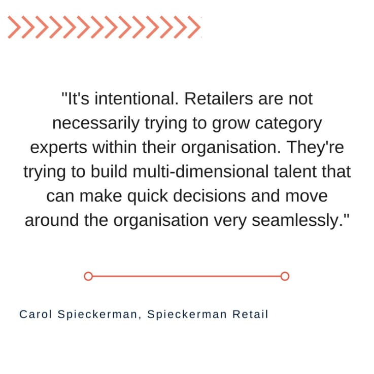 Spieckerman Retail - Carol quote