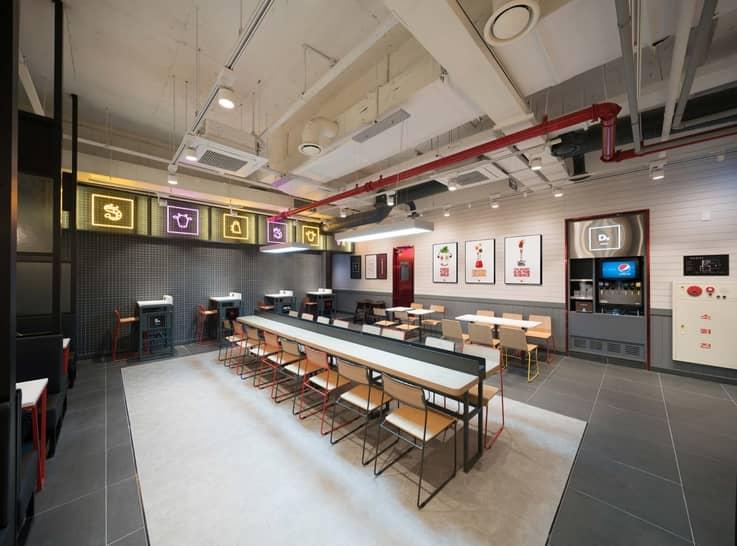 Burger Laboratory - Store Design