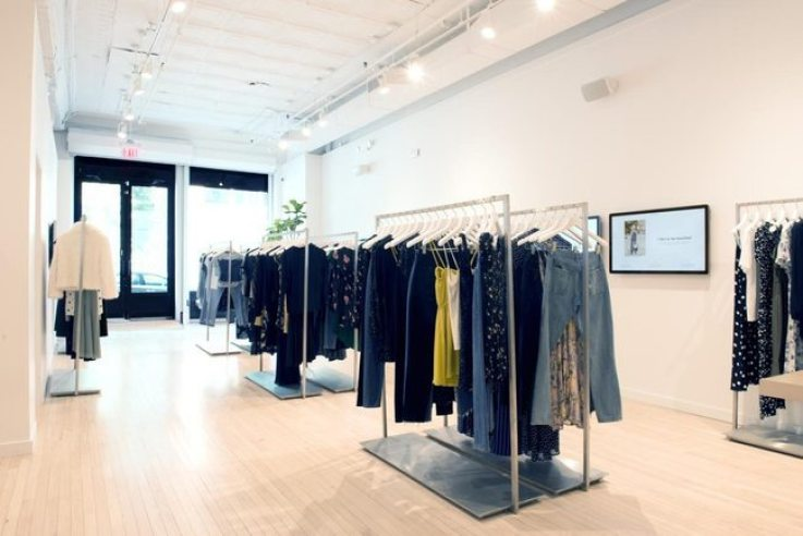 Reformation physical retail innovation