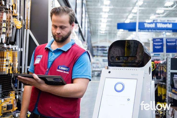 Fellow Robots future of retail robotics