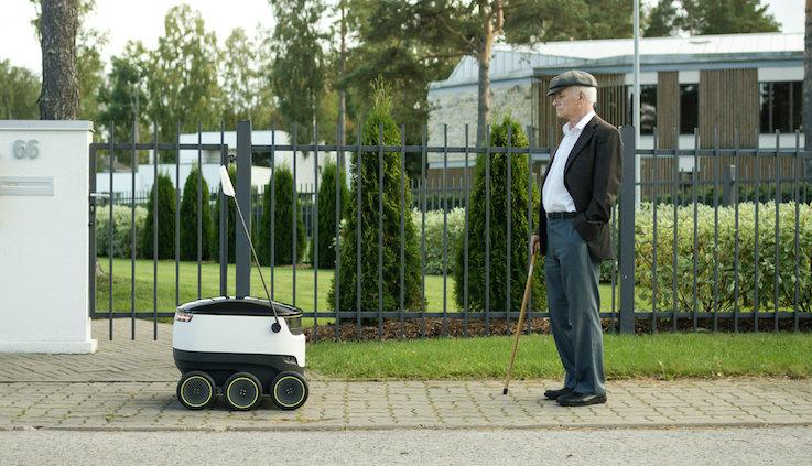 Starship Technologies retail robotics