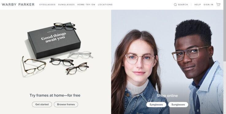 Warby Parker - Retail Startups