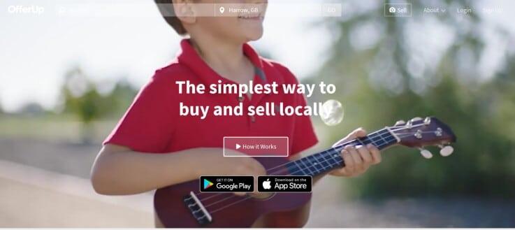 OfferUp - ecommerce marketplaces