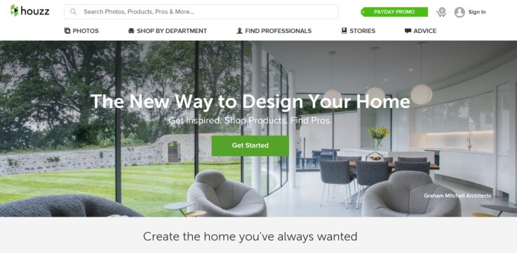 Houzz - future of retail