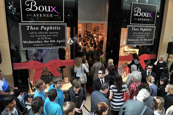 Boux Avenue retail store strategy
