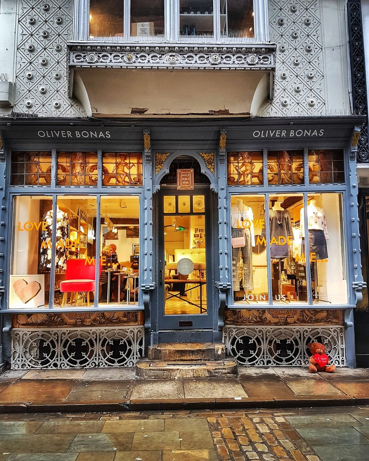 Oliver Bonas successful retail stores