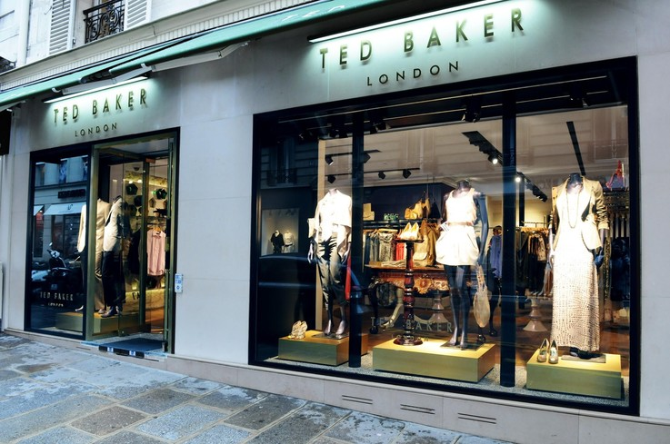 Ted Baker retail store sales