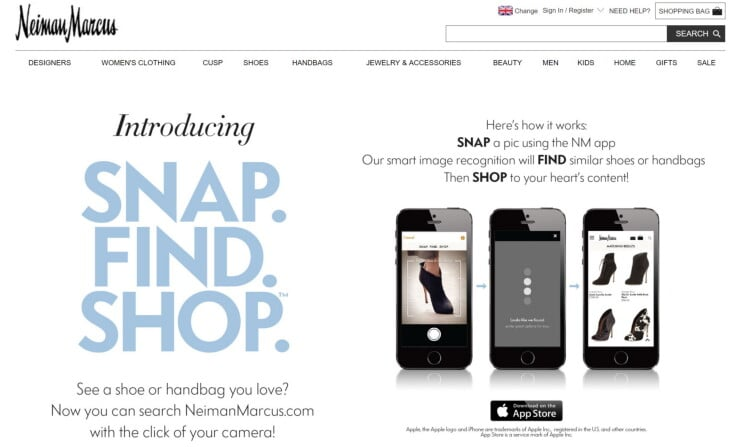 Retail AI Tech - Neiman Marcus