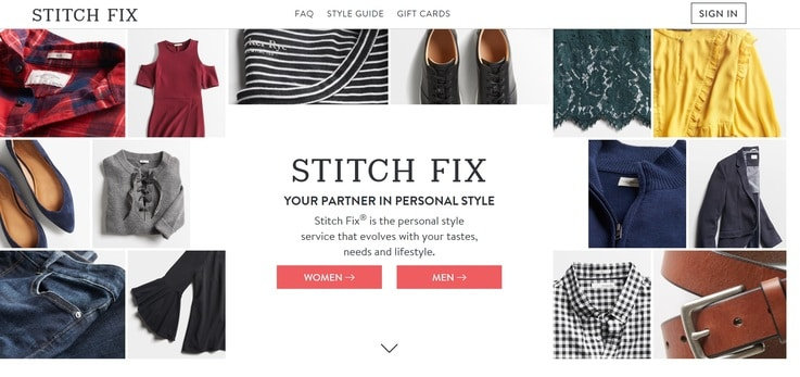 Stitch Fix fashion retail AI