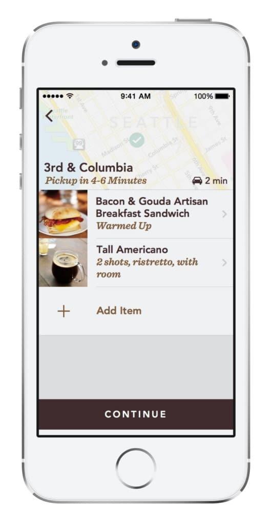 Starbucks - Mobile Commerce Retail