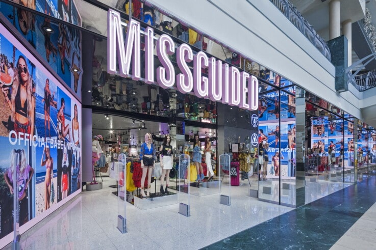 Missguided - Retail Store Design