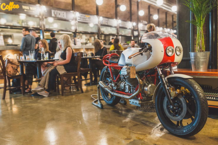 The Bike Shed - Retail Design