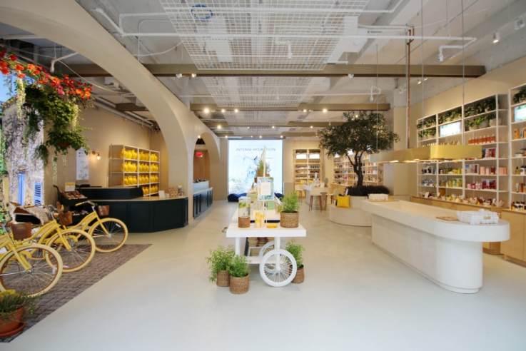 L'Occitane 555 New York store design