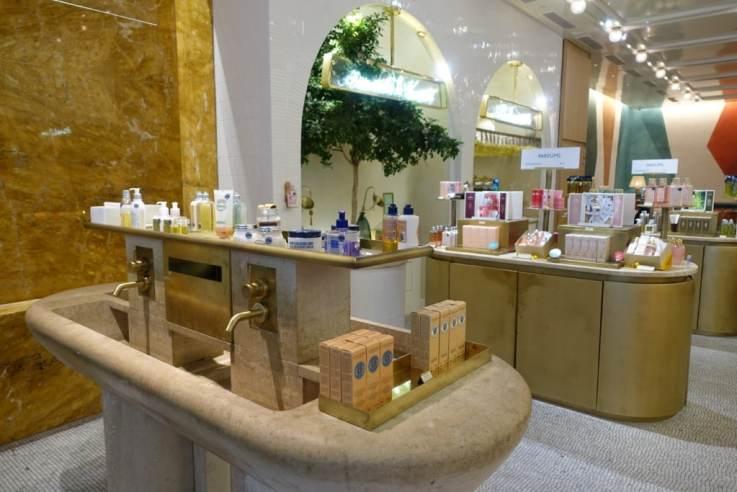 experiential beauty retail Paris