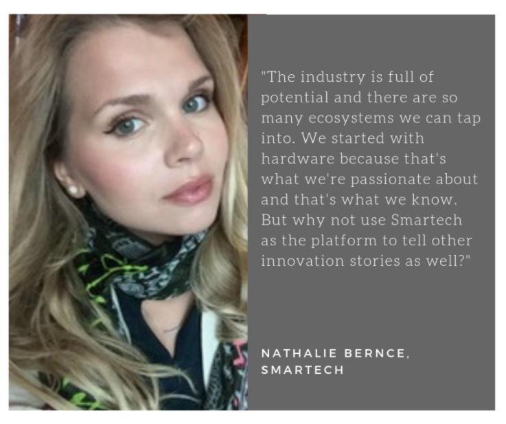 Nathalie Bernce Smartech Retail Innovation