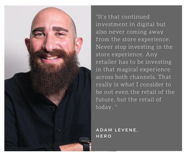 Adam Levene Hero omnichannel