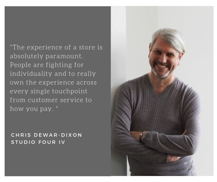 Chris Dewar-Dixon retail design