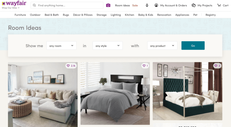 Wayfair ecommerce growth