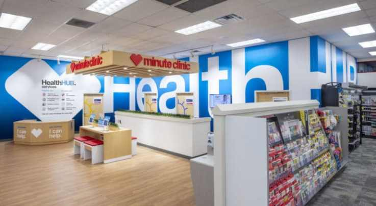CVS HealthHUB retail concept store
