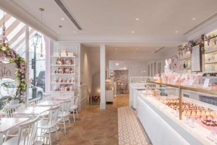 Peggy Porschen Chelsea store design