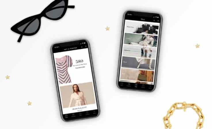Net-a-Porter mobile retail app