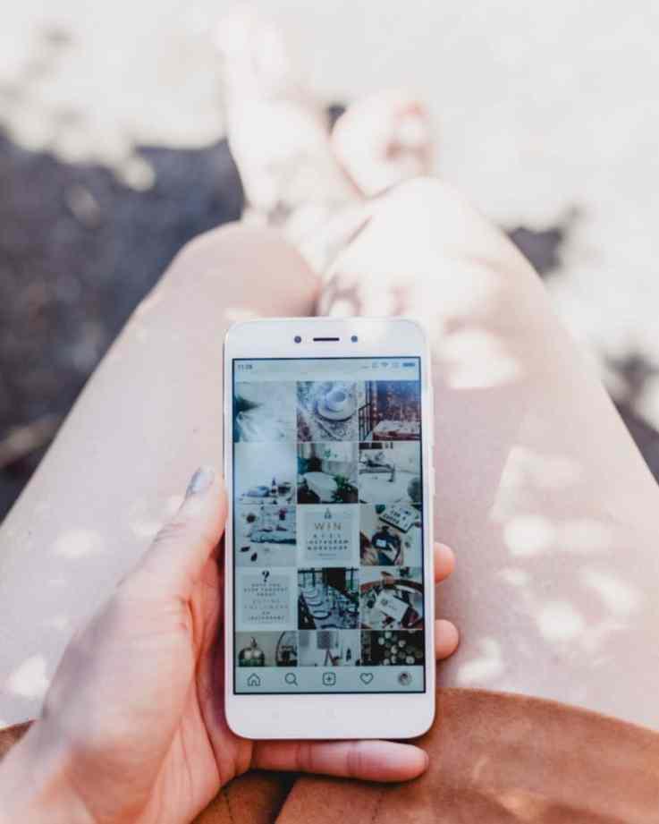 Instagram retail luxury