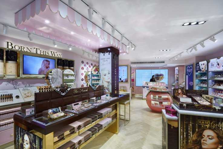 too faced retail design
