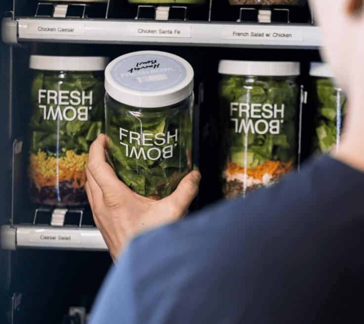 Fresh Bowl healthy vending
