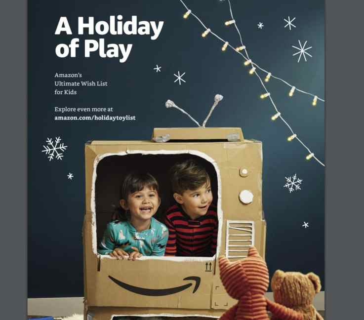 Amazon printed toy catalogue
