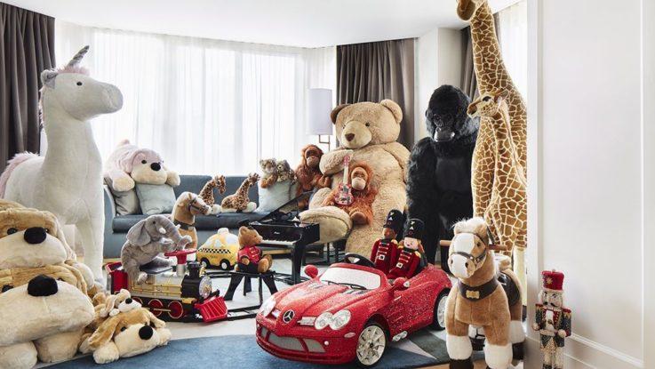 Conrad Hotel FAO Schwarz toy retail experience