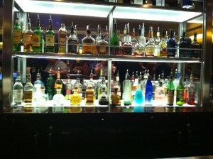 Cruise Ship Alcohol Bottles