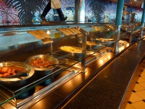 Cruise Line Buffet Food