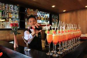 Cruise Line Staff Bar
