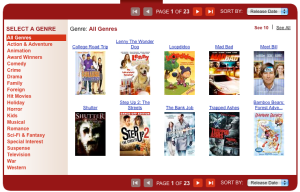 "New Redbox ""Find A Movie\"" screen adds more options"