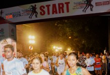 Chembur monsoon run,Chembur monsoon run 5,000 active runners,5,000 active runners,monsoon run attracts 5,000 active runners,organized by Sports United