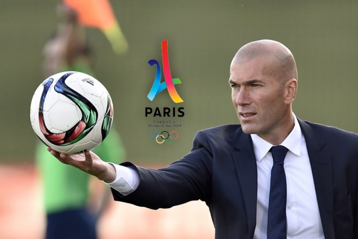 Zinedine Zidane, Paris Olympics, France's football captain, Zinedine Zidane, Paris 2024 Olympic, InsideSport