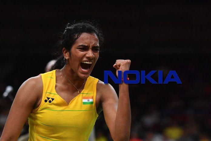 Nokia PV Sindhu