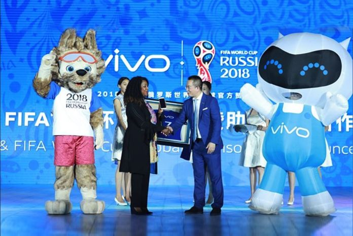 Vivo FIFA 2018 World Cup,WC sponsorship deal,VIVO sponsorship deal in FIFA World cup,FIFA Worldcup sponsorship,VIVO Deal with FIFA