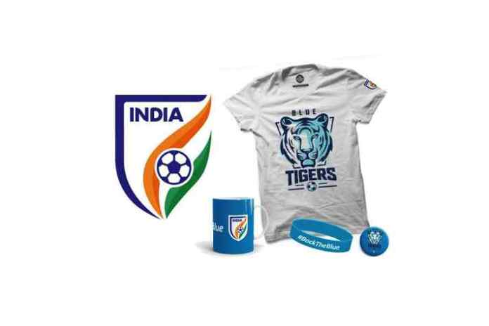 AIFF lifestyle fan merchandise,#BackTheBlues,Indian National Football Team,Fifa U-17 World Cup Nike India jersey,Nike Selling India jersey,InsideSport