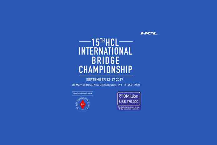Rs1.8 Cr prize purse for HCL International Bridge Championship- InsideSport