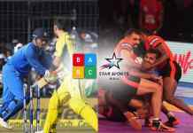 Star network channels and cricket shows have captured four of the top five positions apiece in the Week 38 (Saturday, September 16 to Friday, September 22) Broadcast Audience Research Council data.