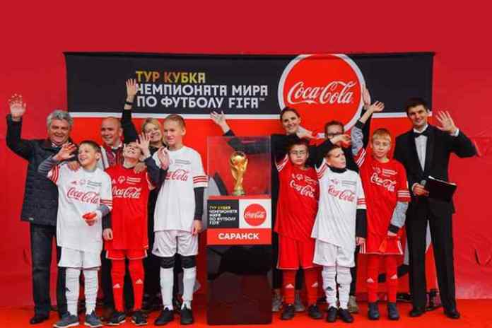 Coca-Cola takes FIFA Trophy to 16 Russian cities; 220,000 fans - InsideSport