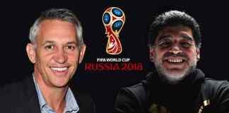 Maradona, Linekar to reunite at World Cup draw