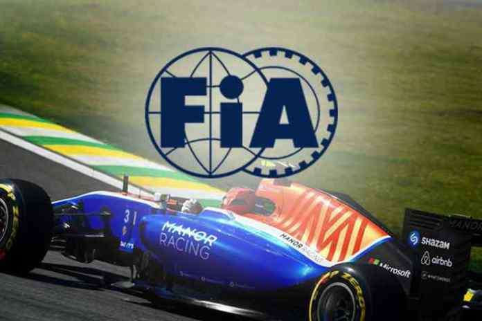FIA reimburses 2017 F1 entry fee to Manor Racing