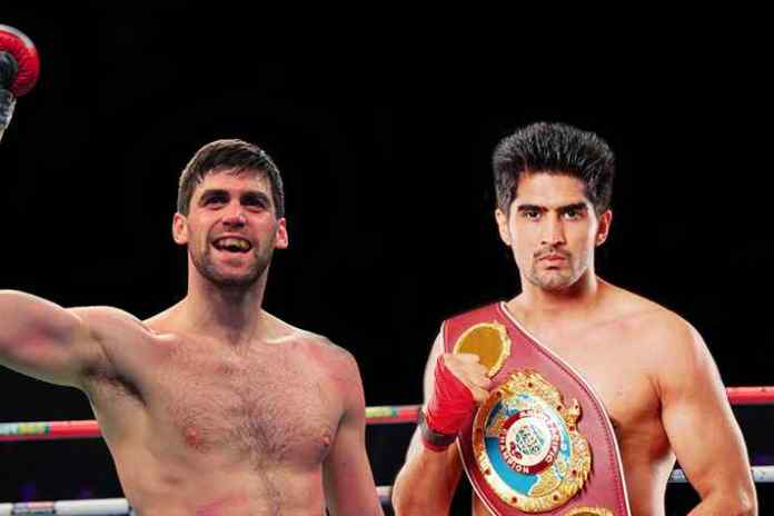 Vijender Singh to defend his title in UK