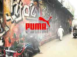 Puma apologies for defacing heritage wall for ad shoot
