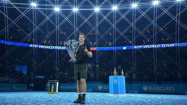 ATP Finals complete record-breaking attendance