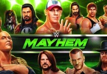 WWE Mayhem - App by Reliance Entertainment - InsideSport